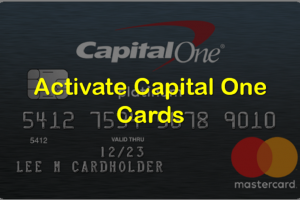 Activate Capital One